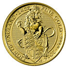 2016 Great Britain 25 Pounds 1/4 oz. Gold Queen's Beast Lion of England SKU42712