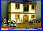 1/72 Figures-Diorama-Building-ww2-french-germans-house-alsace-kit-resine