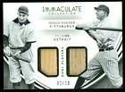 2016 Immaculate Ty Cobb Honus Wagner Dual Bat Relic 2 10 (WI)
