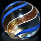 ANTIQUE 1895 GERMAN HANDMADE GLASS MARBLE/.655