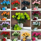 12 bushes 84 Silk BUDS ROSES Wedding FLOWERS Bouquets Supply for Centerpieces
