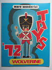 1972 Vintage Wolverine Salesmans Toy Catalog Brochure - Dollhouse Texaco Station