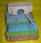 1998 STAR WARS Episode 1 Micro Machines THEED RAPIDS Playset SET River Escape