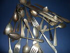 Silverplate Vintage Silverware Forks Spoons Knives for Jewelry Crafting 120 Pcs