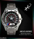 BMW M5 M POWER E30 M3 LOGO MENS SPORT METAL WATCH