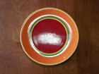 Dansk CARIBE ARUBA ORANGE Set of 3 Dinner Plates 10 5/8 Second pic best color