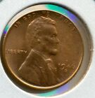 1946-S LINCOLN CENT, CHOICE BRILLIANT UNCIRCULATED RED, GREAT PRICE!