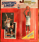 1993 Action Figure Alonzo Mourning Charlotte Hornets Starting Lineup SLU