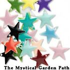 40 OR 120 Silver Plated Mixed Enamel Star Charms 12mm OR 17mm