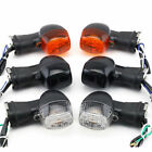 Motorcycle Front Turn signals Indicator Light For Kawasaki GPX250R EX500R KLE500