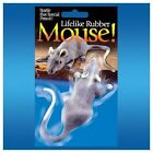 RUBBER MOUSE Realistic Scary Haunted House Halloween Gag Prank Joke Rat