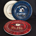 Three Coffee Break By Sakura 8 1/4'' Salad or Dessert Plates Red White