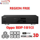 Oppo BDT-101CI Multi Region-Free DVD Blu-Ray Player - 3D Support - 4K Upscaling