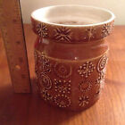 Vintage Amber Portmeirion Totem Store Susan Williams Ellis 1960's Storage Jar