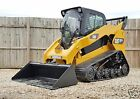 1 OWNER 2013 CATERPILLAR 287C2 2 SPEED CAB HEAT AC CAT Track Skid Steer Loader