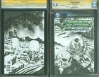 Green Lantern 13 CGC SS 9.8 Blank Sketch Cover Black Hand by Mike Perkins NM