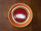 Dansk CARIBE ARUBA ORANGE Set of 4 Dinner Plates 10 5/8 Second pic best color