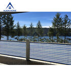 3 Tall Custom Length Privacy Screen Patio Pool Fence BlueWhite by Alion Home