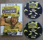 Nick Frosts Danger 50000 Volts 2 Disc Set DVD Shaun Of The Dead Zombies
