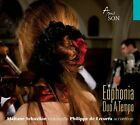 Duo A Tempo Euphonia Music for Cello  Accordion New CD With DVD