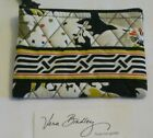 Vera Bradley DOGWOOD Coin COSMETIC Lipstick CASE PURSE for TOTE bakcpack    NWOT