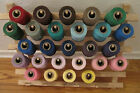 Sewing Quilting 100 Mercerized Cotton Thread 1000 yds 3 ply 26 colours SCS Star