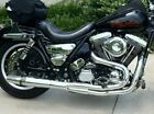 Chrome Thunderheader 2 into 1 Exhaust System Pipe 87 94 Harley FXR Mid Controls