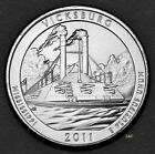 2011 P  Vicksburg Quarter Uncirculated from Mint Wrapped Roll Clad