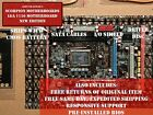 NEW Intel LGA 1156 H55 Micro ATX Computer Motherboard DDR3 16GB WiFi + OC