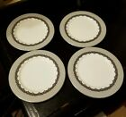 Very Rare - RALPH LAUREN China Cocktail Dress Bread Plates Set of 4 - NWOT