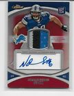 2010 TOPPS FINEST NDAMUKONG SUH RED REFRACTOR ROOKIE AUTO PATCH 3 COLORS 11 50