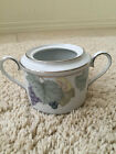 VINTAGE VTG NORITAKE SUGAR BOWL GRAPE ARBOR DOUBLE HANDLE NO LID 4008 Sri Lanka