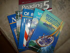 A Beka Reading 5 Readers Comprehension Guide Book Report Books Homeschooling
