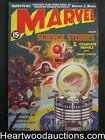 Marvel Science Stories Aug 1938 1 Classic Saunders Cover High Grade