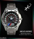 BMW M3 M POWER SPEEDOMETER E30 M3 LOGO MENS SPORT METAL WATCH