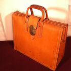 Vintage Leather Briefcase - 1940's - 1950's