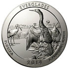 2014 25c 5 oz Silver America the Beautiful Everglades NP ATB Coin SKU32790