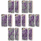 HEAD CASE DESIGNS HOLIDAY PURPLE LIQUID GLITTER CASE COVER FOR APPLE iPHONE 7