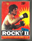1979 TOPPS ROCKY 2 THE MOVIE 36 PACK BOX VERY RARE !