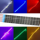 6 Pack DC 12V Waterproof 1Ft 15 LED Strip Underbody Light with 6 wires 4 motor