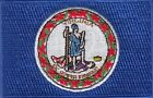 Virginia USA State Flag Embroidered Patches 35x225