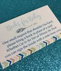 20 Books For Baby Cards For Boy Baby Shower Invitation Insert Tribal