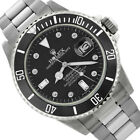 Rolex Men's Submariner Stainless Steel 40mm Diamond Dial - Pre-Owned