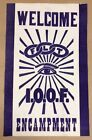 Welcome Encampment IOOF FLT Odd Fellows Vintage FREE SHIPPING INVC188
