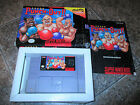 Super Punch Out  Suer Nintendo SNES  COMPLETE IN BOX  CIB BOXED