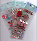 Jolees Touch CHRISTMAS themed embellishment stickers BNIP CUTE Quick Ship