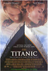 LOT OF 6 Different Rare ALL ORIGINAL -4 Are Double Sided TITANIC MOVIE POSTER 's