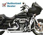 New Bassani Chrome True Dual Down Under Exhaust Header Pipes 2017 Harley Touring