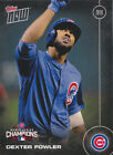 2016 Topps Now Chicago Cubs World Series Champions Team Set 13