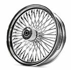 Ultima Chrome 18 x 5.5 48 Fat King Spoke Rear Wheel Harley Chopper Bobber Custom